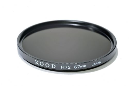 Kood High Quality R720  Infrared Special Effects Filter 67mm Made in Japan